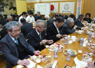 江上茂先生、廣西元信先生 生誕百年祭の様子